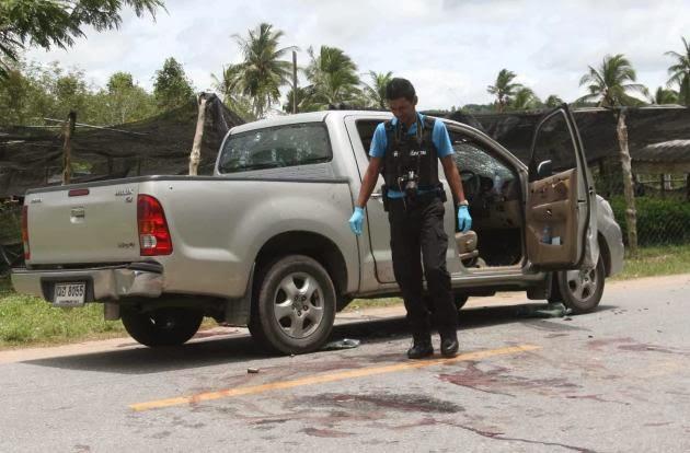 Keganasan Terbaru Di Pattani Dan Yala - Empat Maut Dan Enam Cedera