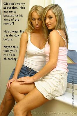 Lesbian disdain