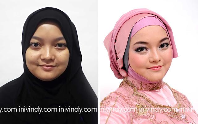 Ini Vindy Yang Ajaib: Before After : MakeUp Natural Ala