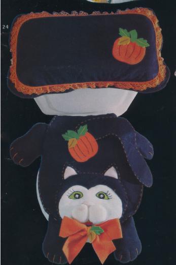 Juegos De Baño Kitty:UN GATO DE TRAPO: ♥ JUEGO DE BAÑO GATO NEGRO ♥