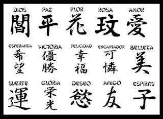 TATUAJES JAPONESES DE NOMBRES Y PALABRAS Free Tattoo Designs