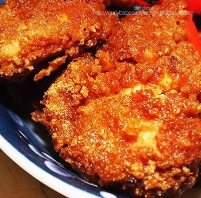 Resepi Ayam Goreng Tepung Ala KFC