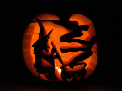 Carved pumpkin designs 1