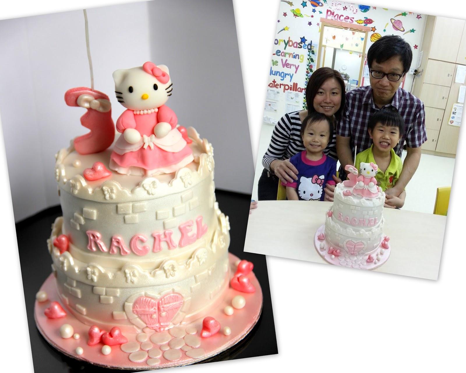 Aimummy Hello Kitty Castle Cake