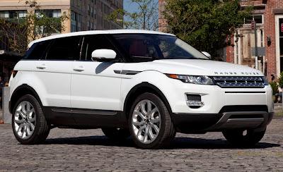 evoque - new range rover cars
