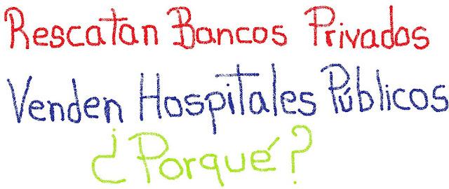 Salvan Bancos Venden Hospiatles