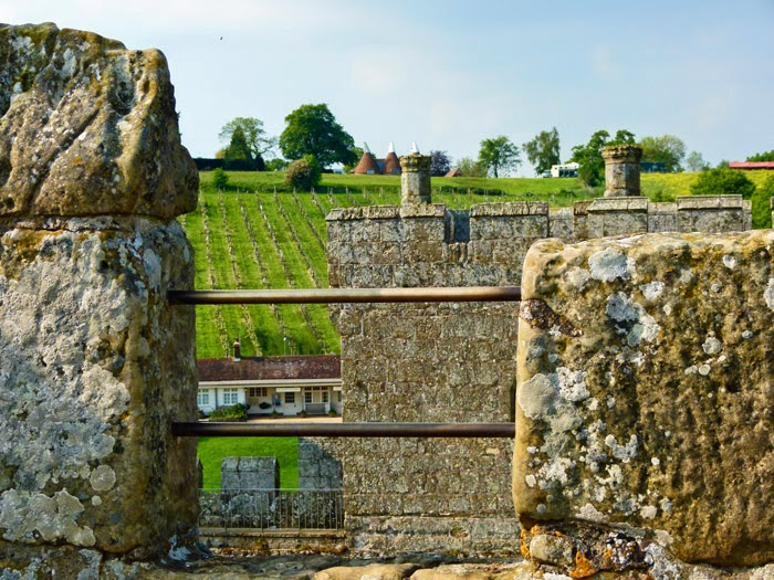 Battlements, spiral staircases, medieval fortifications, castles, Sussex