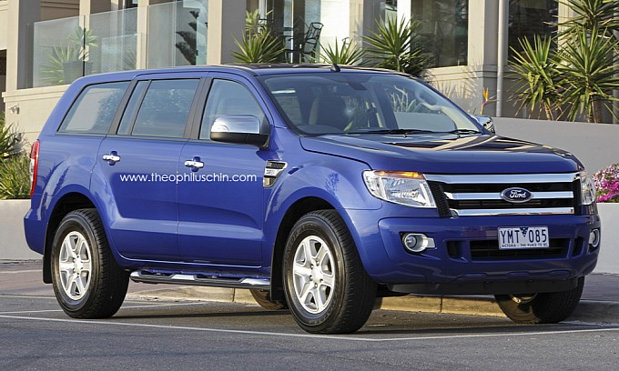 update august 13 2013 ford just unveiled their ford everest suv