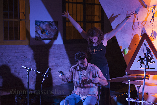 Julián Sánchez i Juliette Louste, Ingravita, Igualada, 19-6-2015