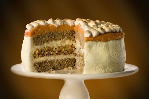 savory turkey cake