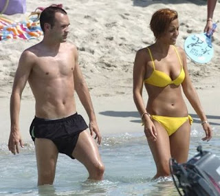 Andres Iniesta Girlfriend