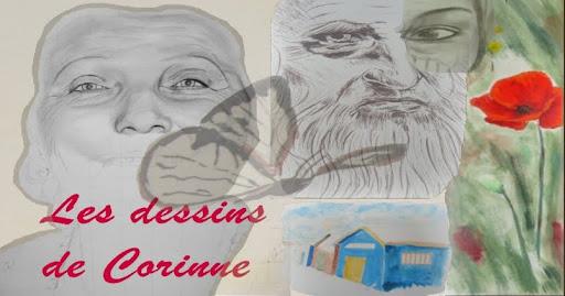 Dessin fusain et dessin sanguine - Les dessins de Corinne