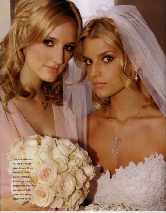 jessica simpson wedding dress ; vera wang\'s dress - wedding dress ...