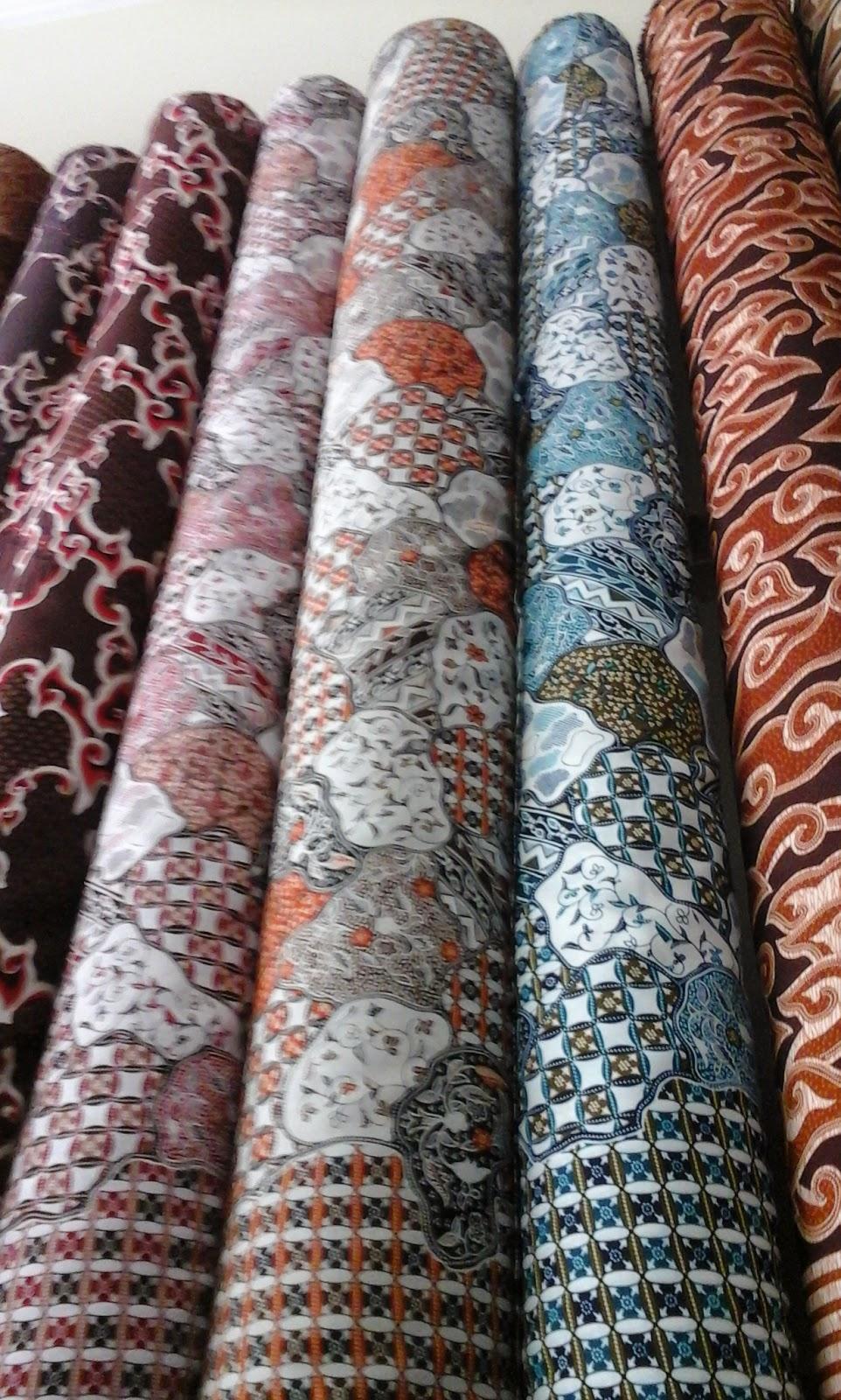Lukman Textile Cilacap Kain Batik Nusantara Murah Harga Grosir