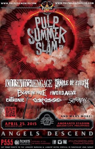 Pulp Summer Slam 15 Angels Ascend on April 25 2015