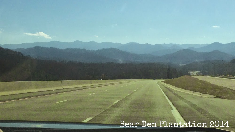 Blue Ridge Mountains, North Carolina - Tennesee border