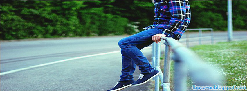 boy cute fashion alone sad facebook cover fb