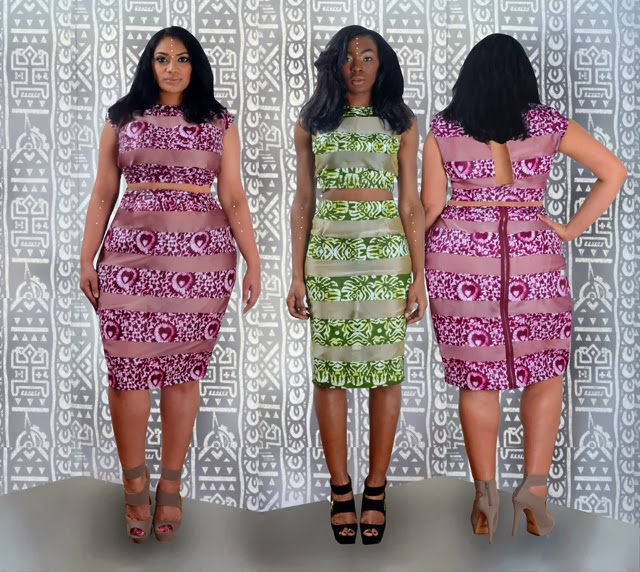 African print style dresses for plus size women rue114
