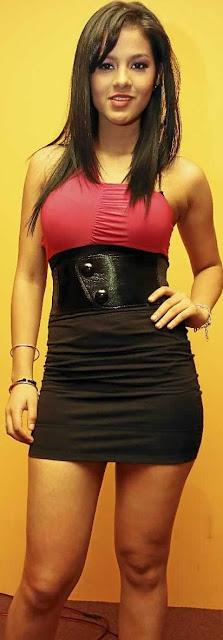 Katty García posee una bella figura y mucho talento como bailarina