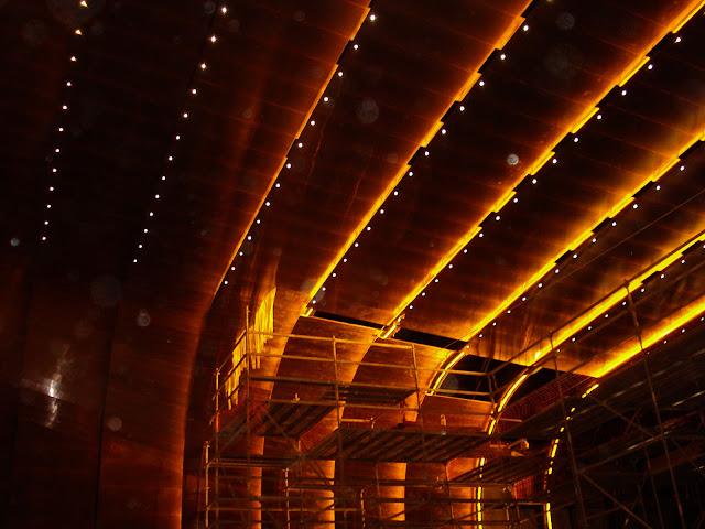 CREAA, Centro de Creación de las Artes de Alcorcón, Centro Cultural, Fachada tecnológica, Fachada ventilada, Revestimiento acústico, Ciprés SL, El hábito de hacer las cosas bien, Rehabilitación de edificios, Reforma de viviendas