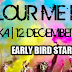 Saturday Run : Finish Colour Me Run 12 December 2015