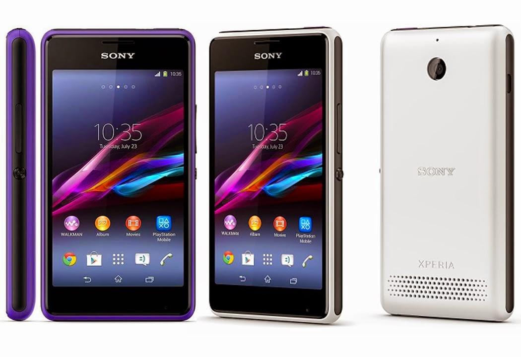Spesifikasi Harga Android Terbaru Sony Xperia E1
