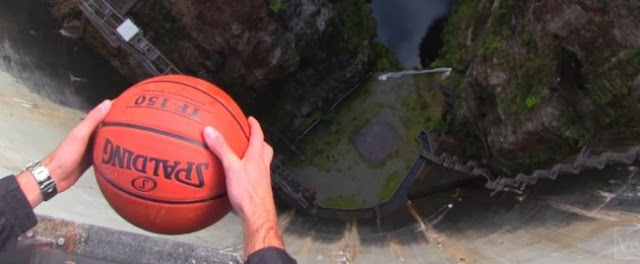 Watch The Physics Behind This Crazy Basketball Trick