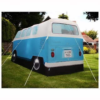 Volkswagon Bigfooting Camper Tent