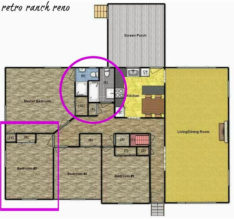 Retro Ranch Reno Our Rancher Before After