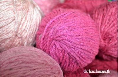 Pink Balls of Yarn