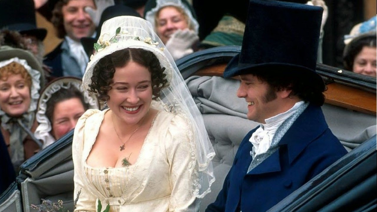 Pride and Prejudice Wedding 1995 - Affordable Wedding Dresses: Regency