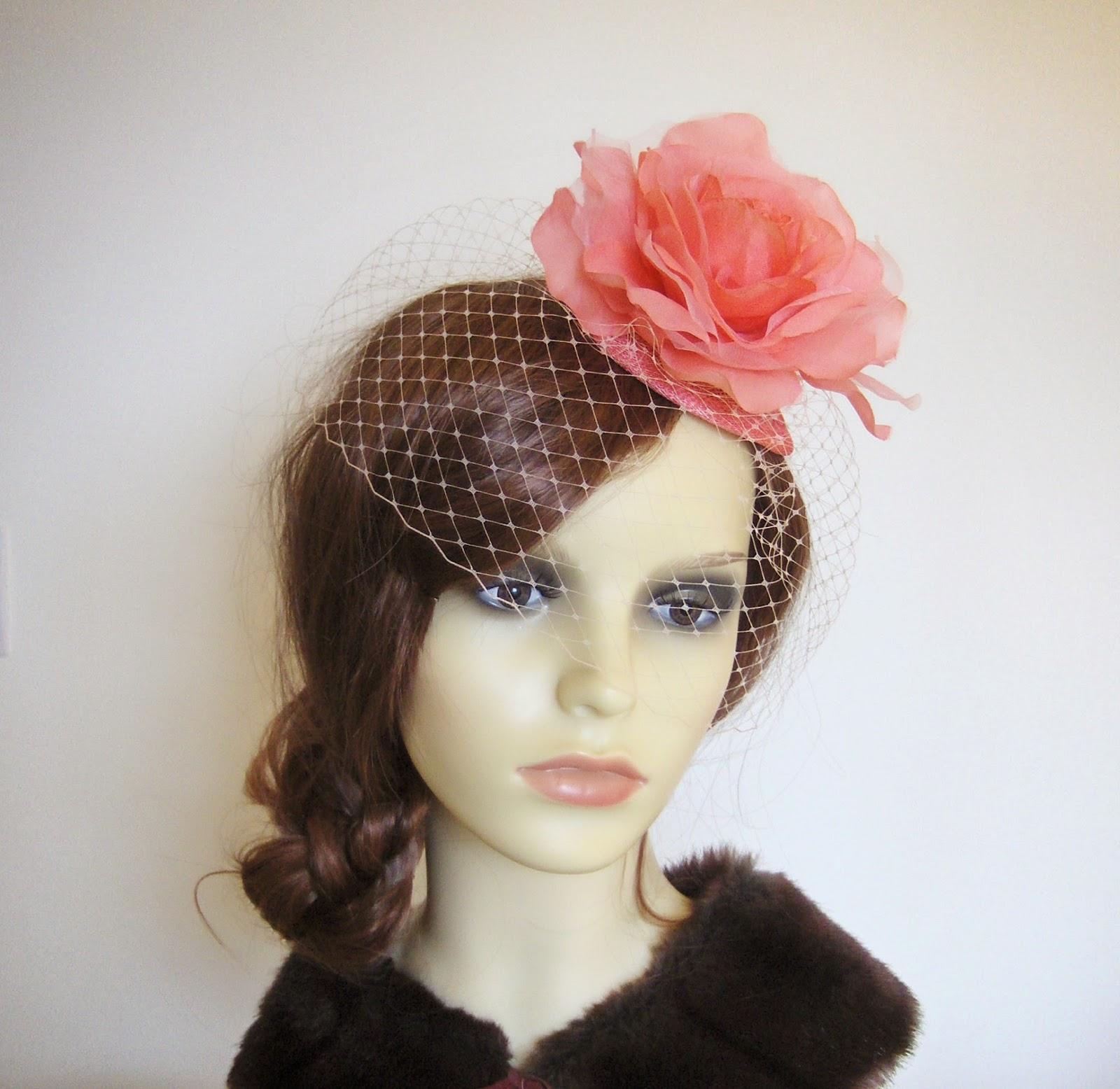 http://folksy.com/items/5669911-Flamingo-peach-rose-fascinator-