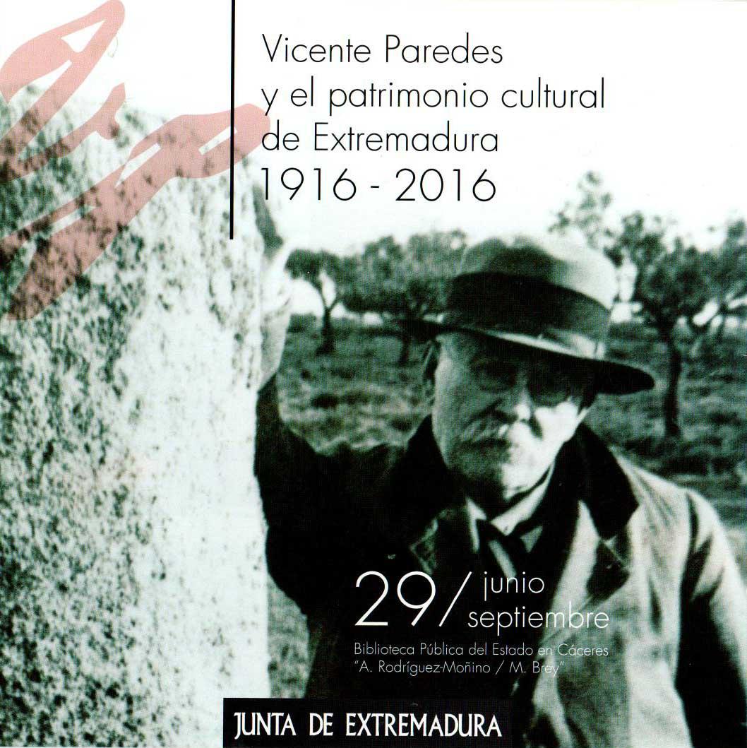 EXPOSICIÓN SOBRE VICENTE PAREDES, ARQUITECTO