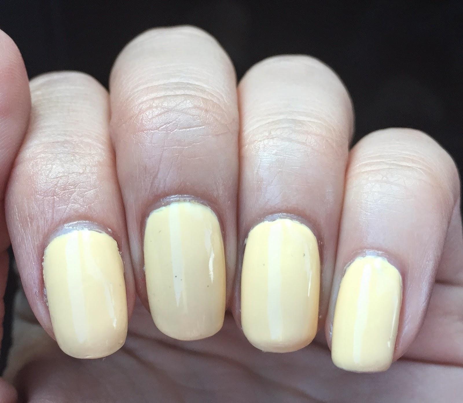 Minutia of Yellow Polish