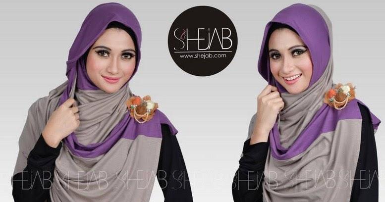Style Hijab Lebaran Model Terbaru