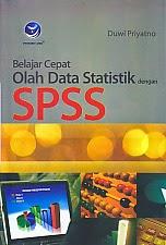 http://ajibayustore.blogspot.com/   Judul Buku : BELAJAR CEPAT OLAH DATA STATISTIK DENGAN SPSS Pengarang : Duwi Priyatno Penerbit : Penerbit Andi