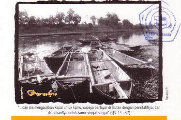 """Postcard """"PERAHU"""""""