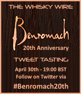 Benromach 20th Anniversary Tweet Tasting
