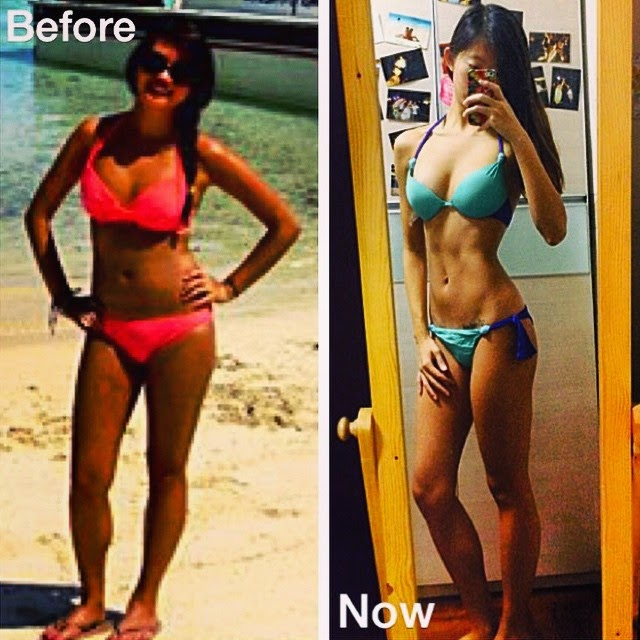 Kayla Itsines BBG Girl Fitness Transformation Photo