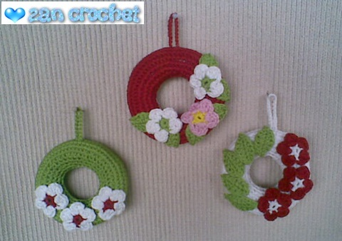 Amigurumi Christmas Wreath Ornament Zan Crochet