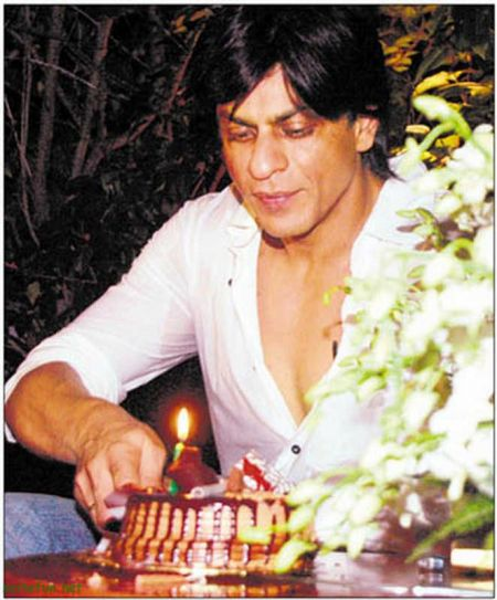 Birthday Greeting Cards: Happy Birthday Shahrukh Khan