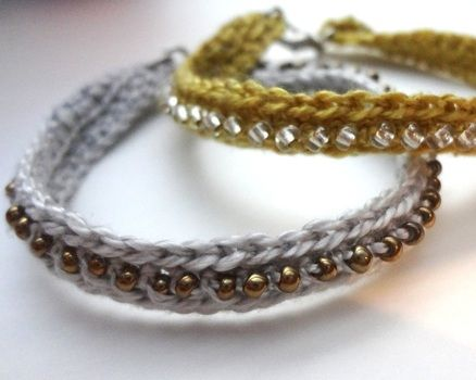 BEAD BRACELET CROCHET PATTERN « CROCHET FREE PATTERNS