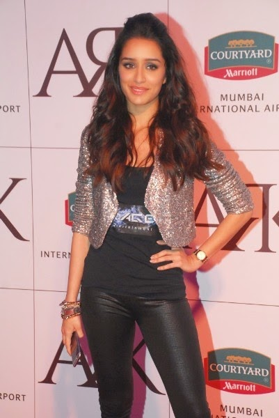Shraddha Kapoor At The Launch Of Ark Lounge And Bar