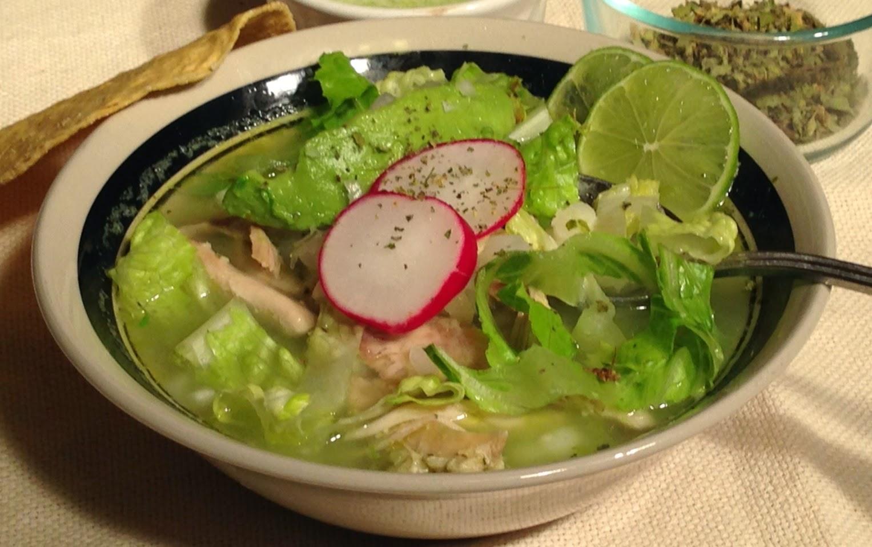 Chicken Pozole Verde Recipe - Light and Delicious!