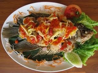 resep makanan ikan bakar sambal mangga