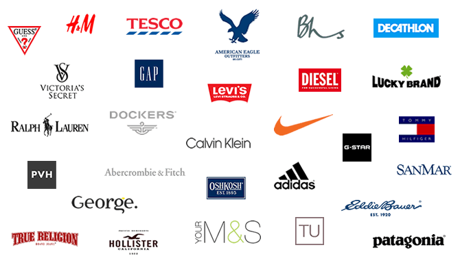 List Of Clothing Brands American Like To Wear