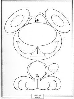 Desenho de Ratinho