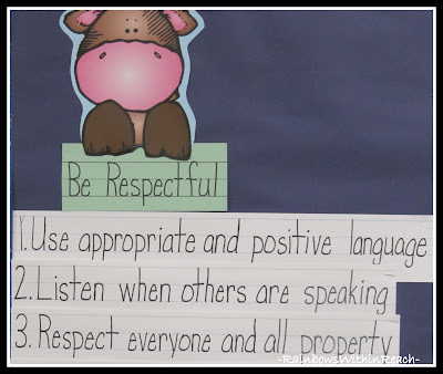 photo of: Kindergarten Rules and Reminders via RainbowsWithinReach