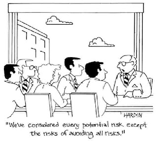 Cartoon: mitigating all risks