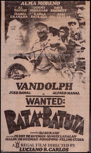Wanted Bata-Batuta, Vandolph